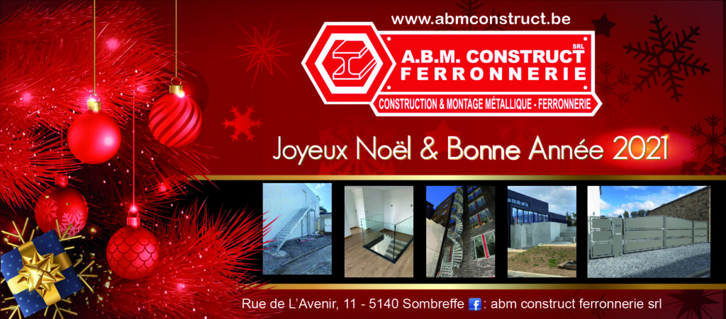 abmconstruct.be Voeux 2020